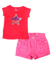 Sizes 2T-4T - Toddler - Americana Set (Tee/Short) (2T-4T)-2364281