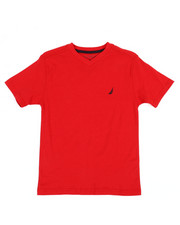Boys - Nautica Logo Printed Tee (8-20)-2361352