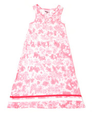 Girls - Kammi Lace Up Maxi Dress (7-16)-2364135