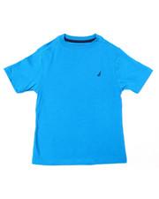 Boys - Nautica Logo Printed S/S Tee (4-7)-2364485
