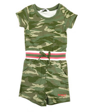 Girls - Alexia French Terry Printed Romper (4-6X)-2362856
