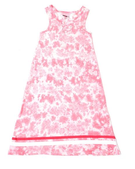 Kensie Girl - Kammi Lace Up Maxi Dress (4-6X)