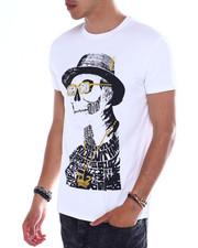 Men - Hipster Skull Jewel Tee-2364691