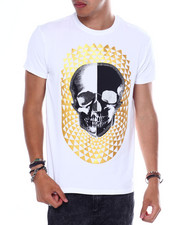 Men - Jewel  Geometric Skull Tee-2364731