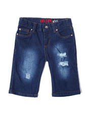 Girls - Americana Denim Short (4-6X)-2364348