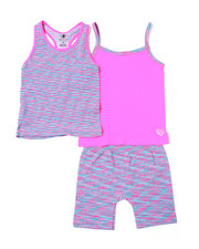 Girls - Tee/Short/Tank Top Set (4-7)-2364435