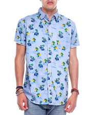 Spring-Summer-M - TIKI  SS BUTTON DOWN SHIRT-2364677