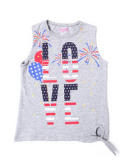 Girls - Americana Tank Top (4-6X)-2364299