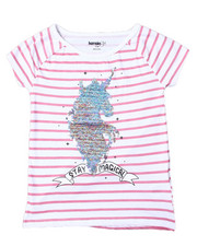 Girls - Zoey Sequin Tee (7-16)-2364113