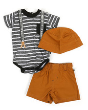 Duck Duck Goose - 3 Piece Knit Set (0-9Mo)-2360338