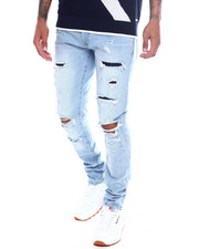Jordan Craig - Sean Distressed and Repaired  Stretch Jean-2364964