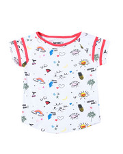 Girls - Bella Raglan Tee (2T-4T)-2364109