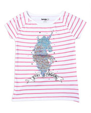 Girls - Zoey Sequin Tee (4-6X)-2364131