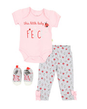 Girls - 3 Piece Knit Set (Infant)-2349104