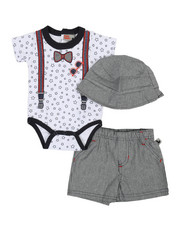 Duck Duck Goose - 3 Piece Knit Set (0-9Mo)-2360393