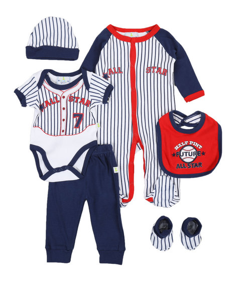 Duck Duck Goose - 7 Piece Future All Star Print Gift Set (Infant)