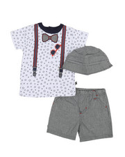 Boys - 3 Piece Knit Set (12-24Mo)-2360475
