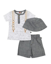 Boys - 3 Piece Knit Set (12-24Mo)-2360501