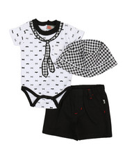 Boys - 3 Piece Knit Set (0-9Mo)-2360349