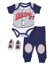 Boys - 3 Piece Knit Set (Infant)-2350245