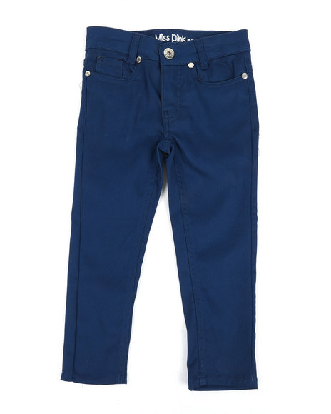 La Galleria - Skinny Stretch Twill Pants (4-6X)