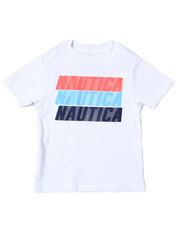 Nautica - Nautica Logo Printed S/S Tee (2T-4T)-2364557