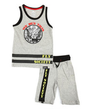 Boys - 2 PC Set Tank Top & Shorts Set (4-7)-2364426