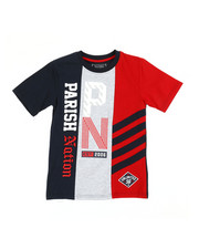 Boys - Color Block Cut & Sew Jersey Tee (8-20)-2362751