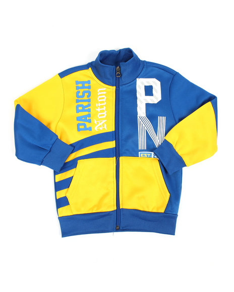 Parish - Color Block Track Jacket (2T-4T)