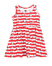 Dresses - Americana Stripe Knit Dress (Infant)-2363963