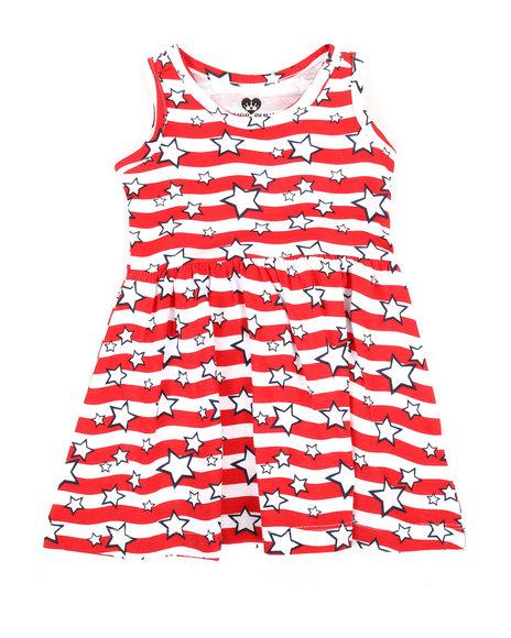 La Galleria - Americana Stripe Knit Dress (Infant)