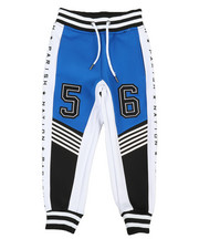 Boys - Color Block Track Pants (4-7)-2364643