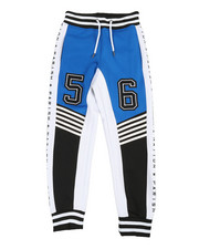 Boys - Color Block Track Pants (8-20)-2364667