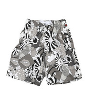 Boys - Printed Microfiber E-Board Shorts (8-18)-2364566