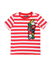 Boys - Chenille Collage Stripe T-Shirt (5-18)-2361879