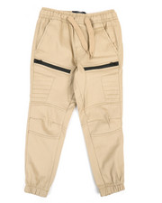 Boys - Stretch Twill Moto Jogger (4-7)-2363911
