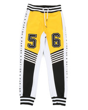 Boys - Color Block Track Pants (8-20)-2364750