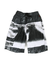 Boys - Printed Microfiber E-Board Shorts (8-18)-2364561