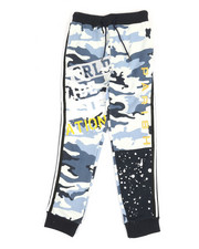 Boys - Color Block Jogger Pants (8-20)-2362683