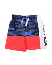 Boys - Nautica Logo Swim Trunks (2T-4T)-2361357