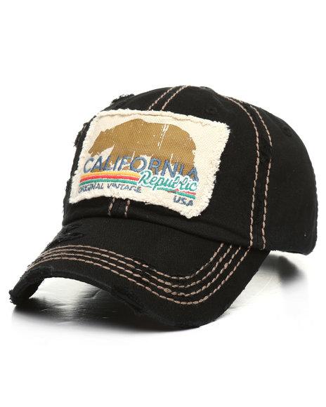 Buyers Picks - California Republic Bear Vintage Ball Cap