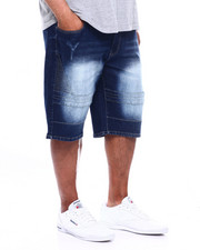 Buyers Picks - Quilted Paneled Denim Short (B&T)-2363848