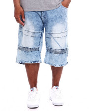 Akademiks - Senna Moto Denim Short (B&T)-2365252
