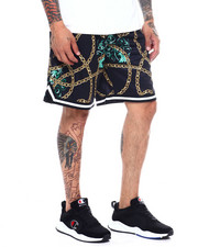 Shorts - Gold Chain Basketball Short-2365224