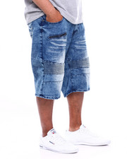 Akademiks - Mandan Moto Denim Short (B&T)-2365258