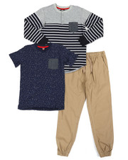 Boys - 3 Piece Knit Set (8-20) -2357570