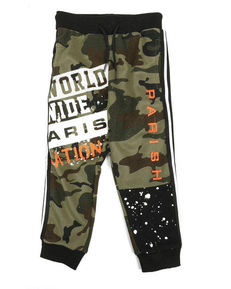 Arcade Styles - Color Block Jogger Pants (4-7)