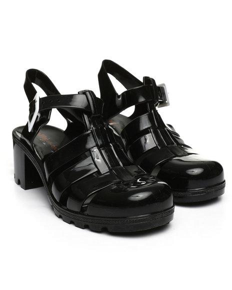 Fashion Lab - Jelly Buckle Closure Sandals
