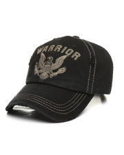 bd61afa016e10 Hats - Warrior Eagle Distressed Dad Hat-2365368