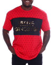Big & Tall - Original Gangster Embossed Foil Short Sleeve T-Shirt  (B&T)-2366432